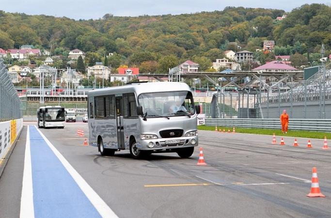 Водители сочинских автобусов проедутся потрассе «Формулы-1»