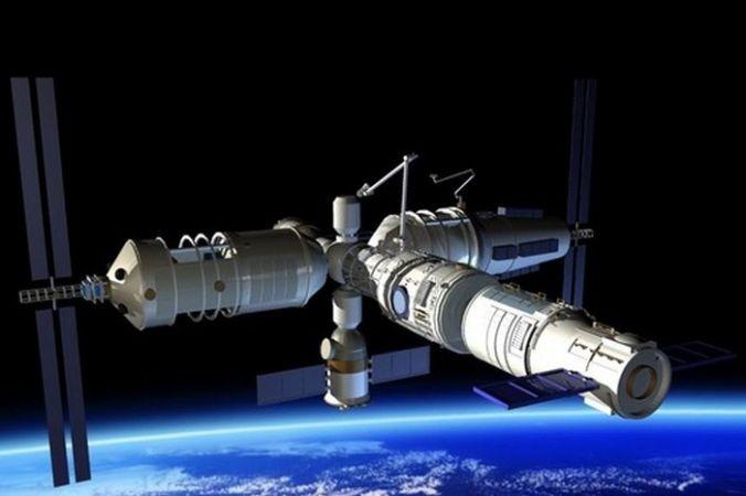 Внушительная орбитальная станция может обрушиться наНью-Йорк влюбую минуту