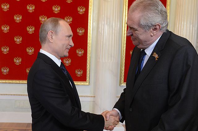 Президент Чехии назвал «наградой» приглашение Владимира Путина посетить Сочи