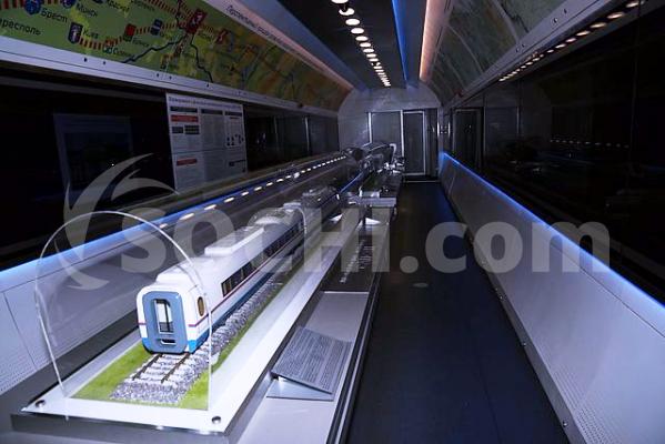 Поезд-музей РЖД приедет наКубань