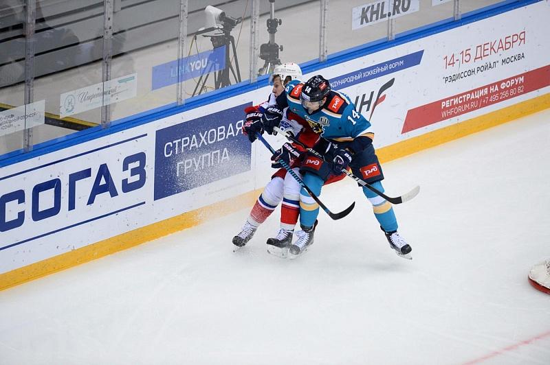 «Локомотив» вырвал победу уХК «Сочи» вовертайме