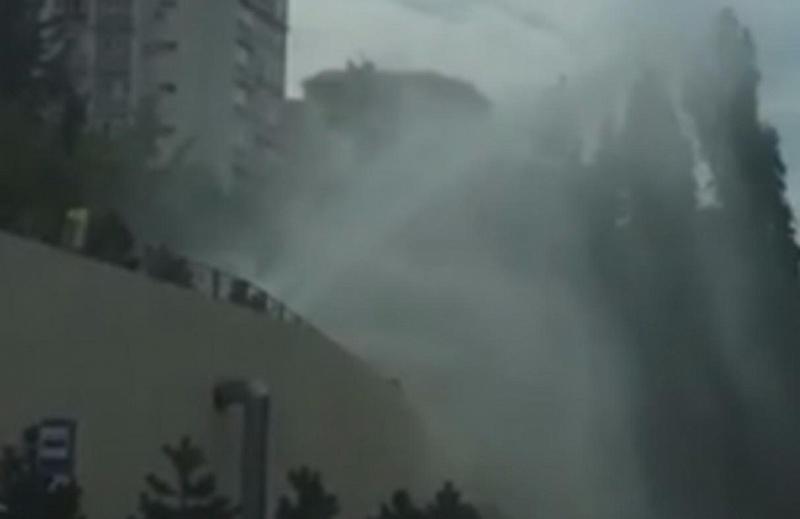 Граждане центра Сочи остались без воды из-за трагедии наводоводе