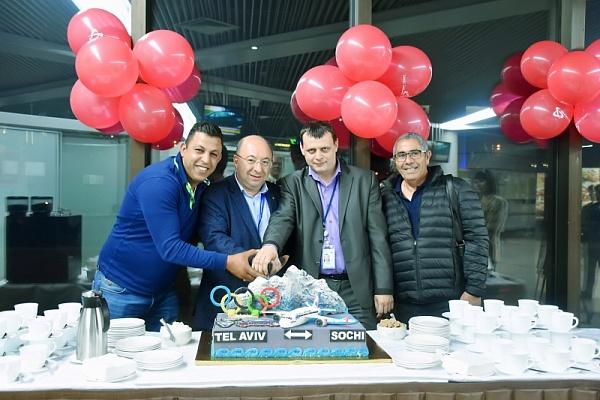 Аэропорт Сочи встретил 1-ый стабильный рейс изТель-Авива