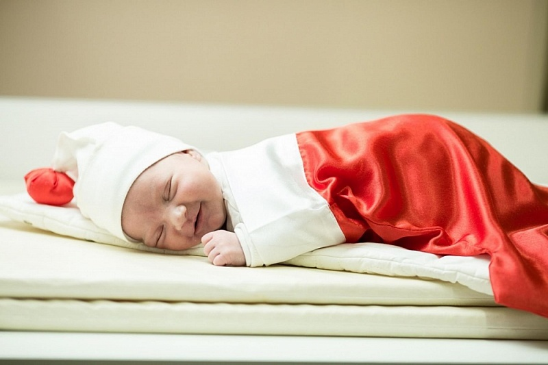 ВКраснодарском крае вновогоднюю ночь родились 112 детей
