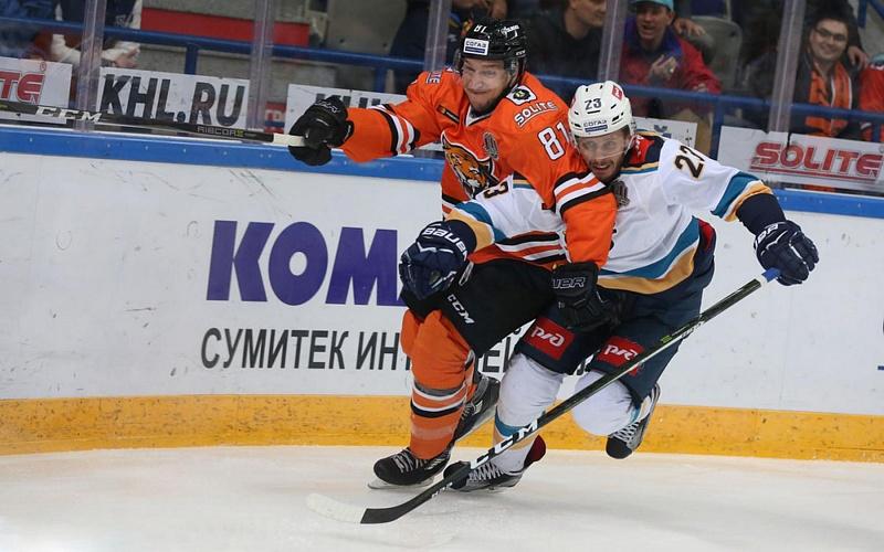 «Амур» продлил победную серию вКХЛ дочетырёх матчей, обыграв «Сочи»