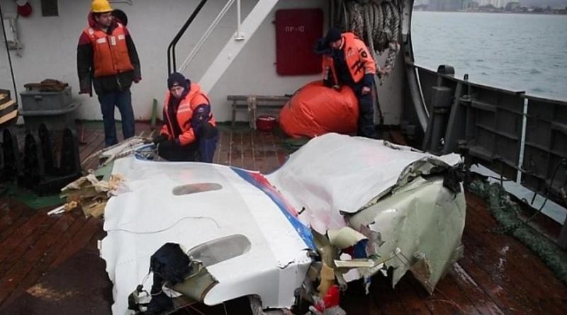 Расследование крушения Ту-154 близ Сочи продлят нанесколько месяцев