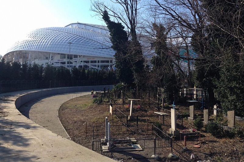 ВСочи вандалы повредили могилы настарообрядческом кладбище