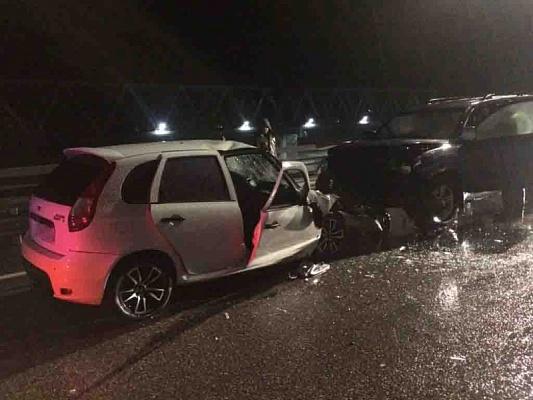 Подороге наКрасную Поляну умер шофёр Лада Kalina