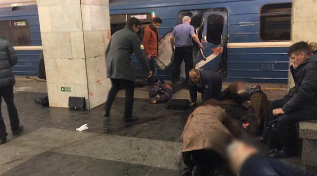 ВСовфеде назвали терактом взрыв впитерском метро