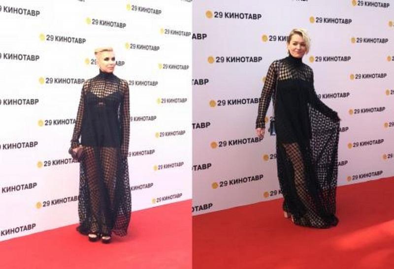 Толстоганова иСвиридова появились назакрытии «Кинотавра» в равновеликих  платьях— престижный  конфуз